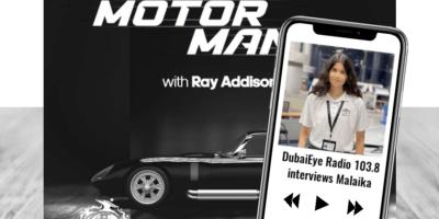 DubaiEye Radio interviews Malaika from Grade 11